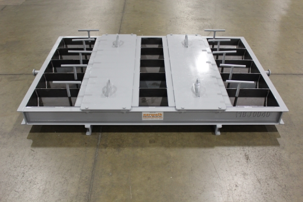 Bumper Block with Drainage Inserts